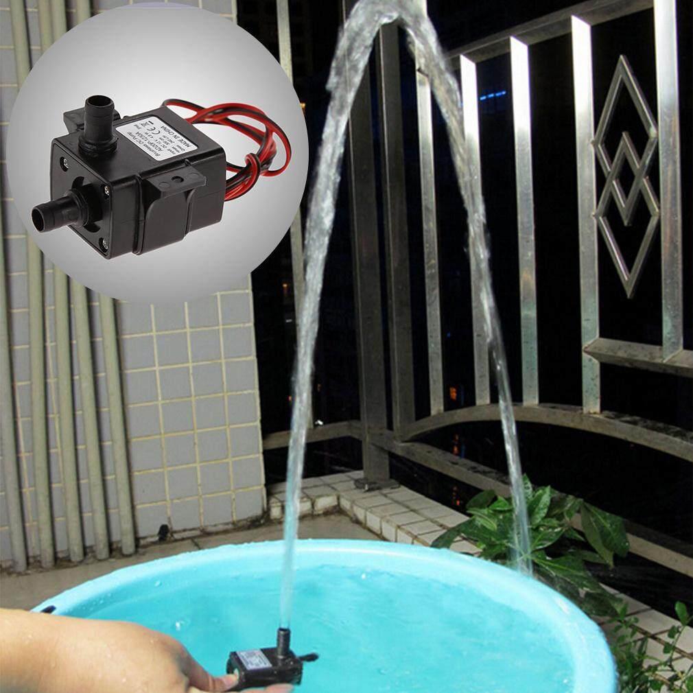 H-Ment Dc 12 โวลต์ 240l/h Submersible น้ำปั๊มไฟฟ้า Mini แอร์ปั๊มพ์เสียงเงียบพิเศษสีดำปั๊ม Mechanical ฮาร์ดแวร์ Aquarium Pro ปั๊มน้ำ By Heartmoment.