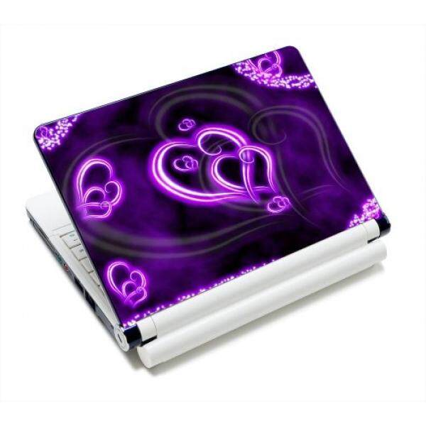 Laptop Skins & Decals Purple Hearts Fashion 11.6