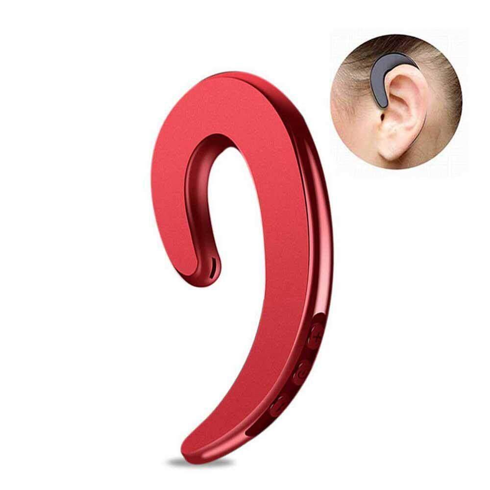 Orzbuy Non หูปลั๊กหูฟังบลูทูธหูฟังหูฟังไร้สายเสียงรบกวนลดลงแฮนด์ฟรีสำหรับโทรศัพท์มือถือแอนดรอยด์ Iphone, แทนหูฟังได้ยินผ่านกระดูกพร้อมหูฟังกระเป๋า (หูเดี่ยว) By Orzbuy.