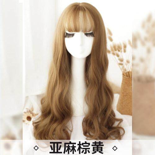 Rp 296.000. Wig Wanita Rambut Keriting Panjang Gelombang Besar 2282ce5147