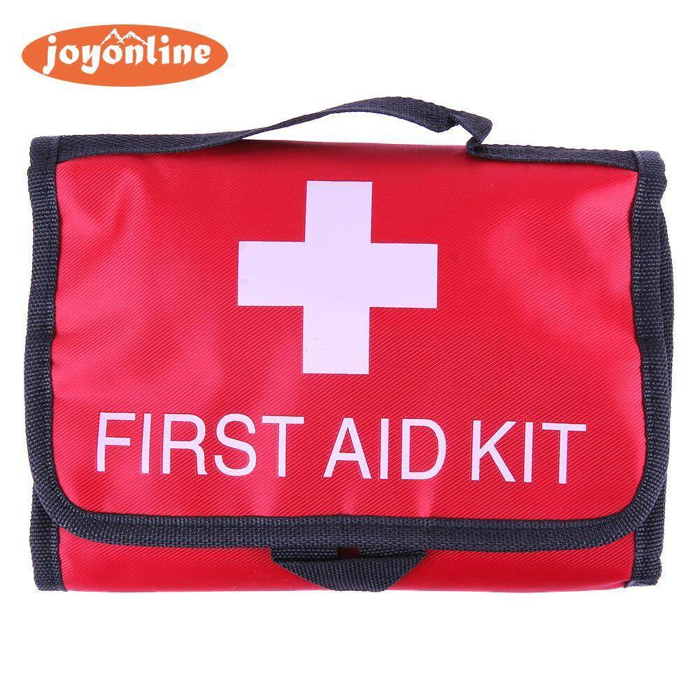 Waterproof 35pcs/pack Travel Outdoor Emergency Box Case First Aid Kit (Red)