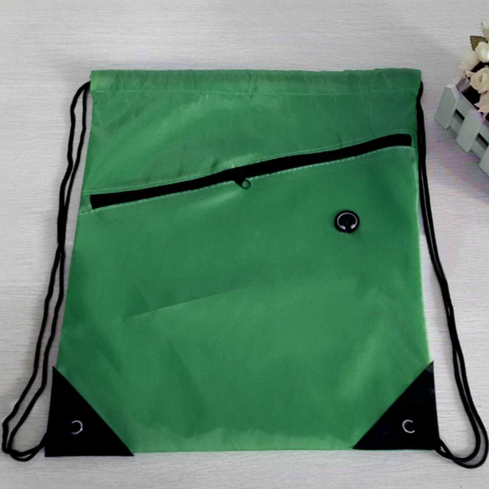 1f20687a306b Colorful String Drawstring Backpack Cinch Sack Gym Swimming Bag School  SportPack