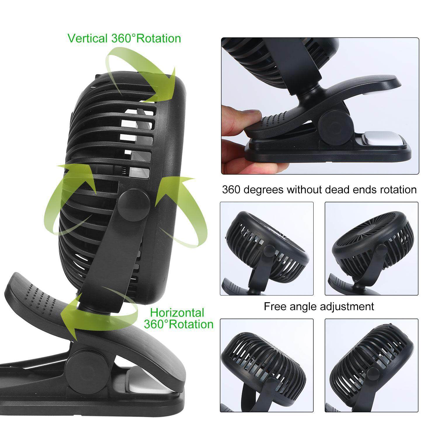 Buy Brand New Collection Of Fan Wiring For Orbit Hanabishi Kobwa Clip On And Desk Baby Stroller With 3 Speeds Personal Portable