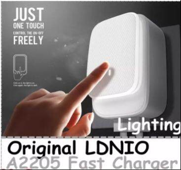 Original LDNIO A2205 2.4A 2 USB Lighting Fast Charge Phone Charger