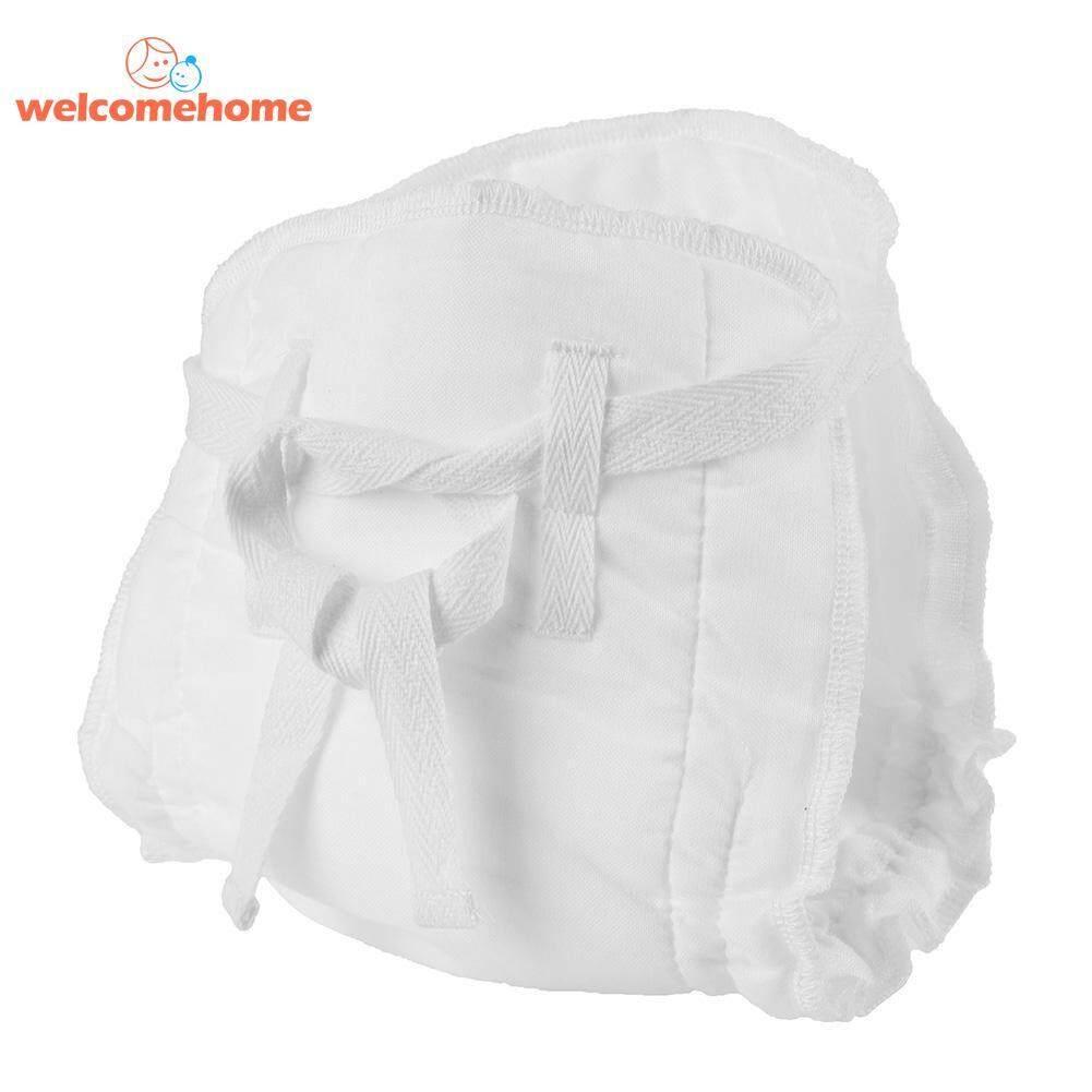 แฟชั่นใหม่ 3 ชั้น Leakproof ผ้าอ้อมเด็กผ้าฝ้าย Reusable ทารกผ้าผ้าอ้อมทารก - Intl.