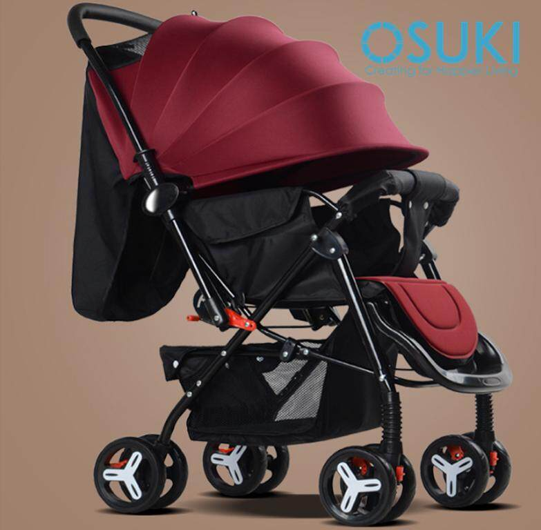 OSUKI Flexi Foldable Baby Stroller (Front/Back Facing)