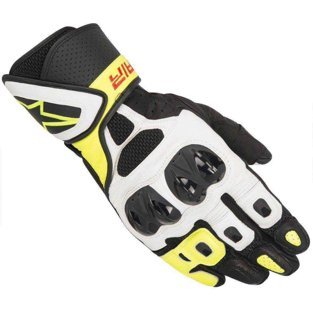 ALPINESTARS SP AIR GLOVE (YELLOW/BLACK/WHITE) - [ORIGINAL]