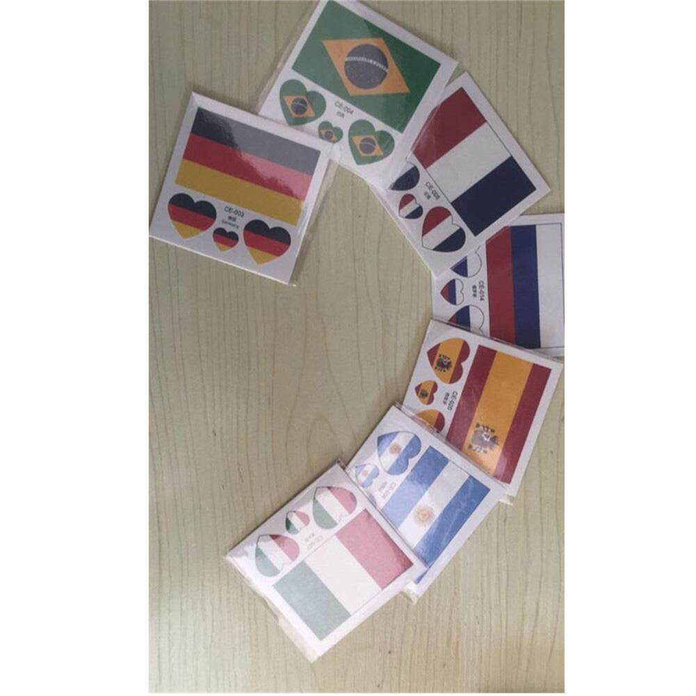 Hình ảnh Hossen Creative Temporary Tattoos Eco-friendly Waterproof National Flag Tattoo Stickers for 2018 World Cup