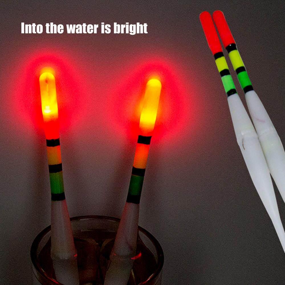 10 Buah/Set LED Memancing Malam Pengapung Memancing Asli Cepat & Mudah .