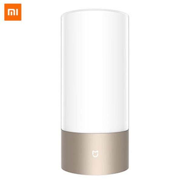Xiaomi Mijia Mi Yeelight Meja Lampu Kamar Meja SMART Lampu Dalam Ruang 16 Juta RGB Bluetooth Kontrol Sentuh WiFi untuk Mihome Aplikasi