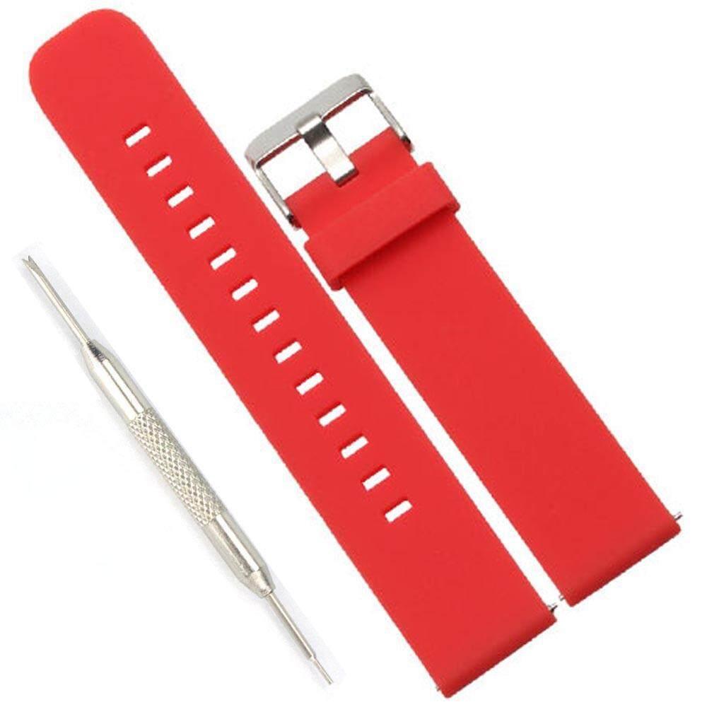 Sport Silicone Bracelet Strap Band + Alat untuk MOTO 360 2nd Watch 46mm-Intl