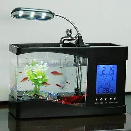 Moon Store Aquarium Aquarium Goldfish Lazy Mini Plastic Creative Ecological Aquarium Square Cylinder Intl Daftar Harga. Source · Lovely USB/AA Mini LCD ...