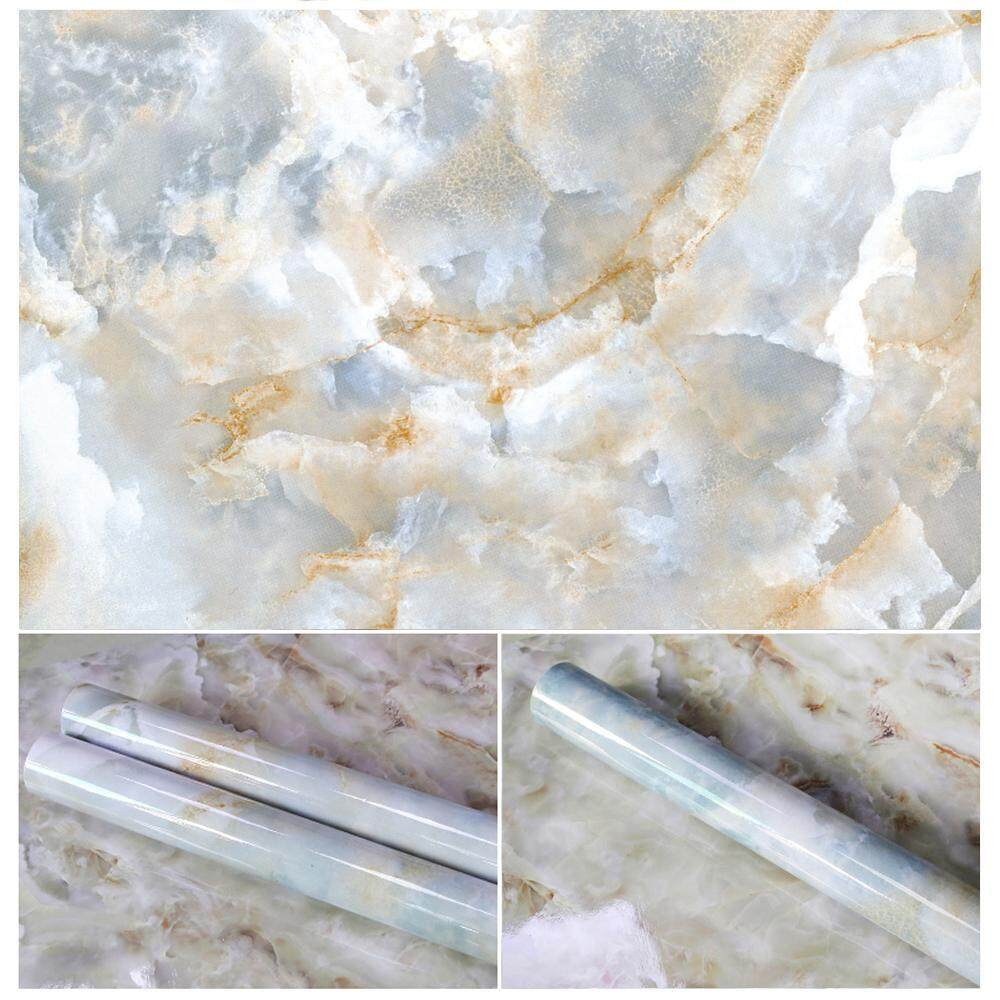 Chongqing 10 Colors Granite Look Marble Effect Contact Paper Film Vinyl Self Adhesive Peel-stick Counter Top Decoration For Kitchen Counter,Closet,Bathroom Wall Sticker - intl