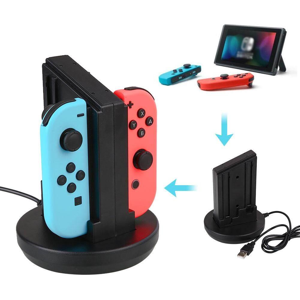 Features Nintendo Switch Joy Con Controllers Grey Dan Harga Terbaru Bestprice For 4 Handle Stand Dock Desktop Charger