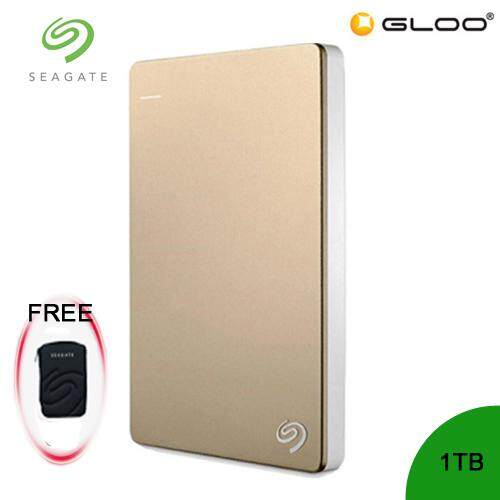 Seagate Backup Plus Portable Drive 1TB - Gold STDR1000309 FREE Hard Pouch Casing [Purchase on 3rd-16th Sept 2019  and Get complimentary RM10 Aeon voucher + RM 20 Starbucks Card *while stocks last]