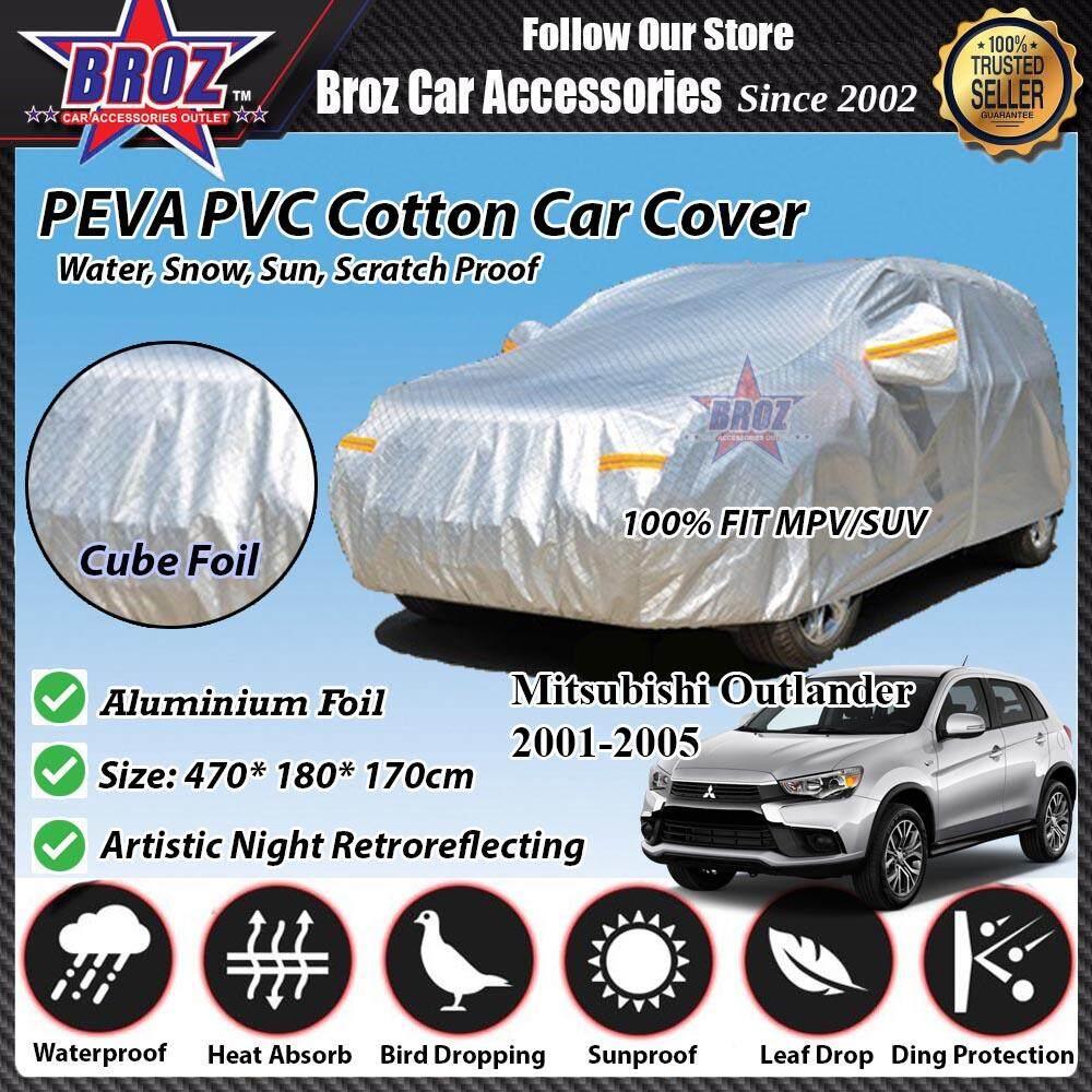 Outlander Car Body Cover PEVA PVC Cotton Aluminium Foil Double Layers - MPV