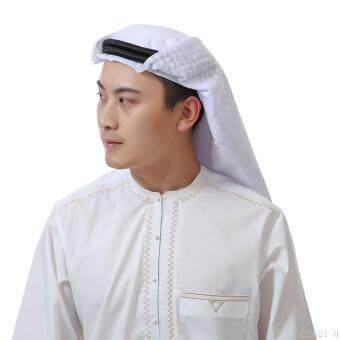 Harga preferensial Muslim Arabia Pria Sorban Headband Pria Jilbab-Intl terbaik murah - Hanya Rp119.493
