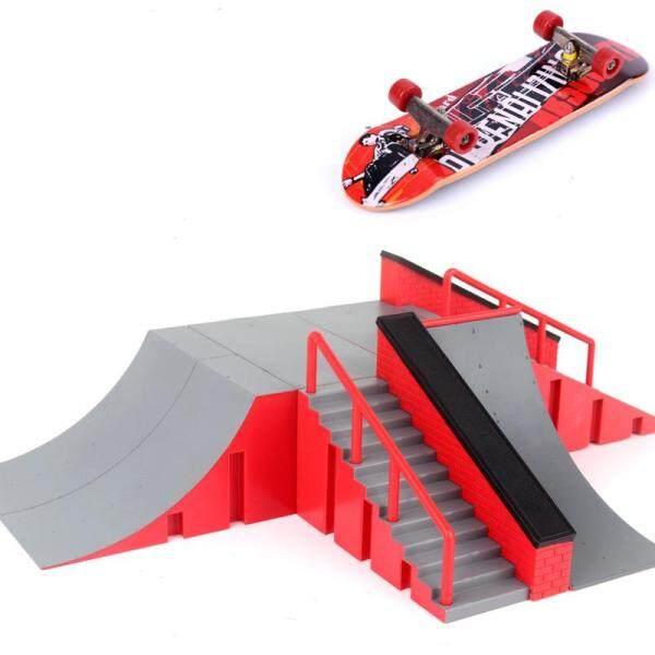 1 Cái Ván Trượt Mini Đồ Chơi Skate Park Cho TechDeck Fingerboard Skateboard Dốc Fingerboard Cuối Cùng Công Viên Ván Tập