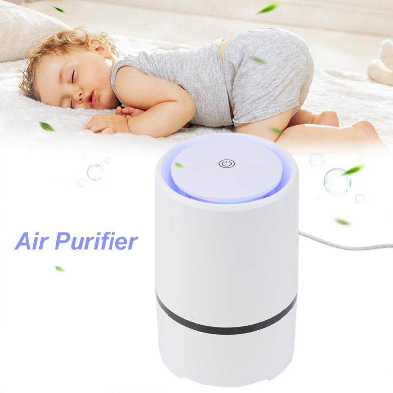 Bảng giá USB Air Purifier Desktop Anion Sterilization Smell Bacteria Remove Cleaner with Filter