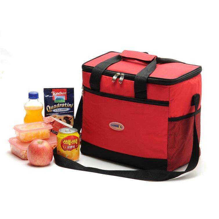 16l กระเป๋าอาหารพกพาอาหารปิกนิกกระเป๋าถือขนาดใหญ่ Thermal Travel ที่เก็บความเย็นกระเป๋า By Outdoor Lizard.