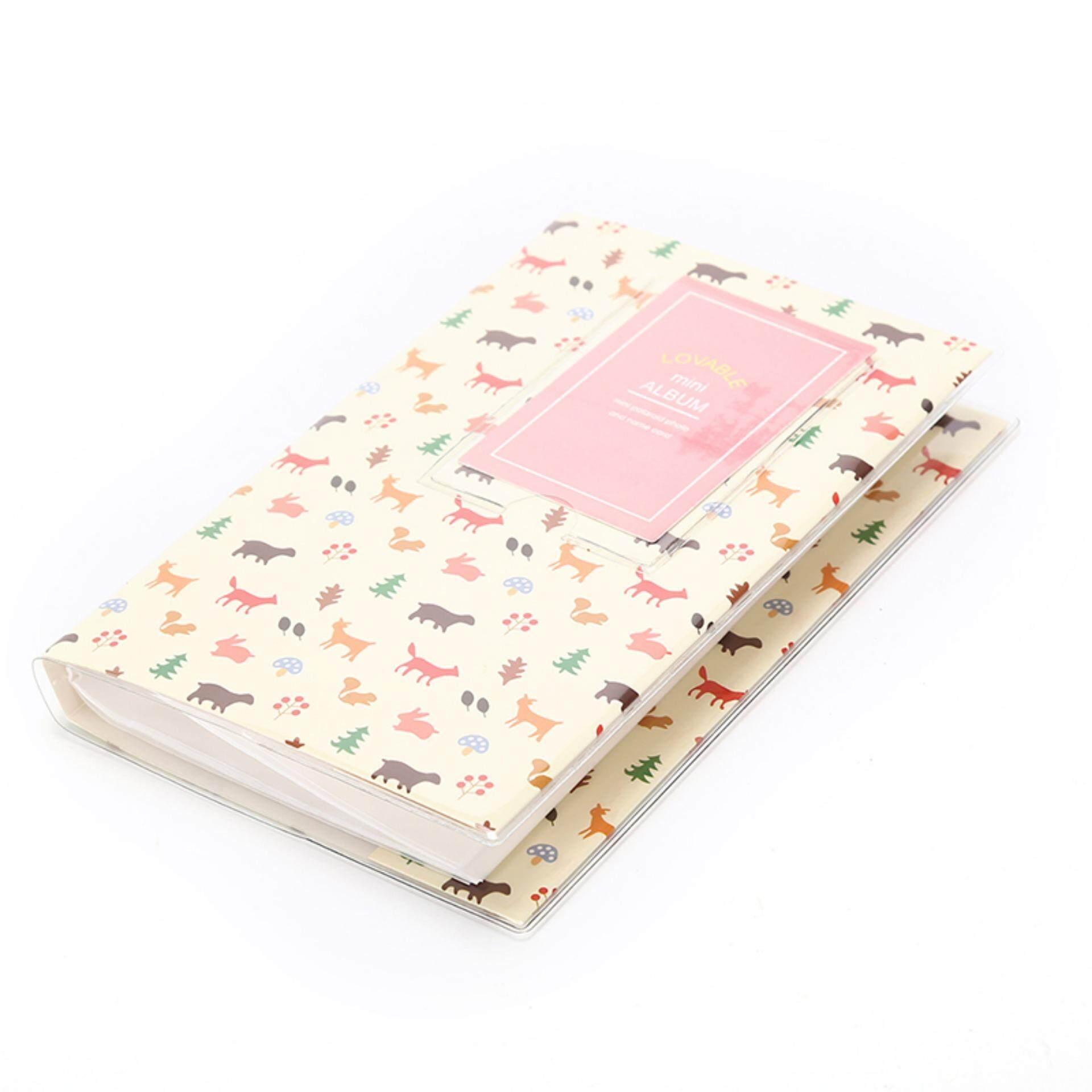 84 Pockets Album Storage Book For Fujifilm Polaroid Fuji Instax Mini 50s 7 8s 90 Style:forest By A Mango.