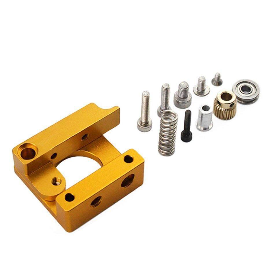 Coyen MK8 Alat Pengekstrusi Aluminum Blok Paduan 3D Printer Profesional Tangan Kanan Perlengkapan Hasil Karya Sendiri