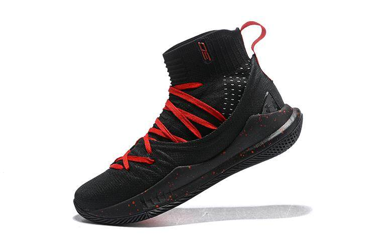 96cc8d5fff0e Under Armour Official Stephen Curry Curry 5 Mid Top SC MENS Basketaball  Shoe Sport ( Black