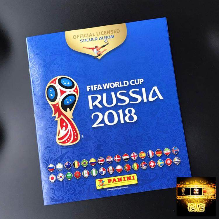PANINI 2018 World Cup Star Stickers Booklet English 80 Pages Spot