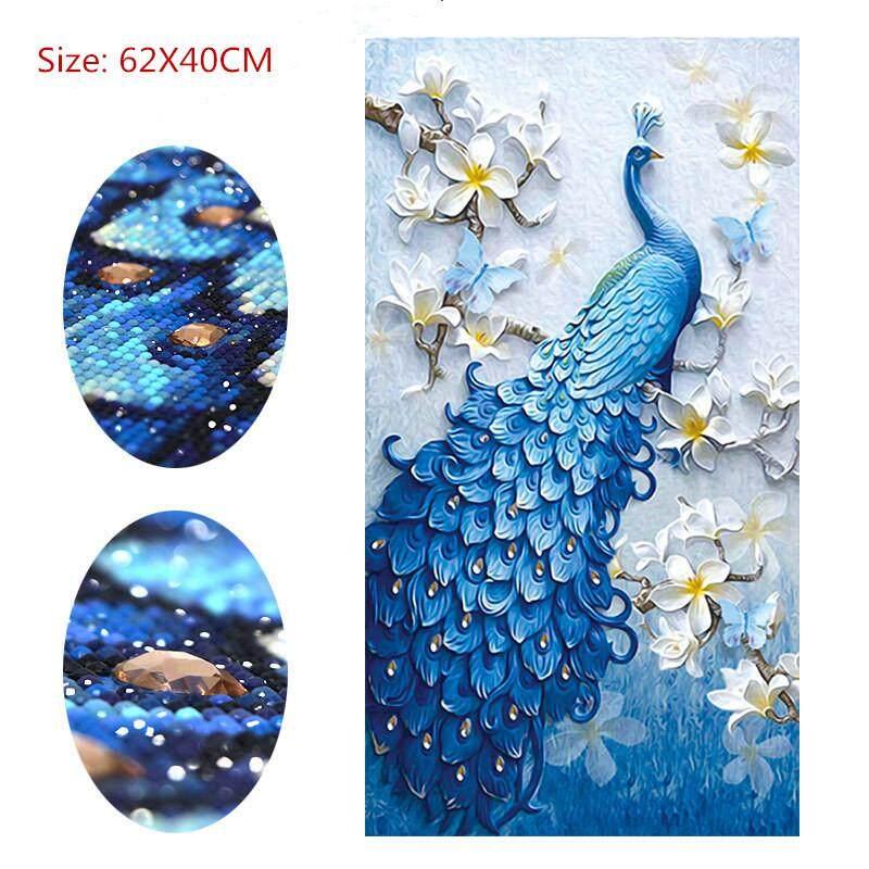 Special Shaped,Diamond Embroidery,Animal,Peacock,Full,Rhinestone,5D,DIY Diamond Painting,Cross Stitch,Diamond Mosaic,Decor