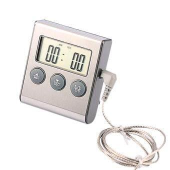 การส่งเสริม LCD Digital Cooking Food Meat For Smoker Oven Thermometer Kitchen BBQ ซื้อเลย - มีเพียง ฿193.13