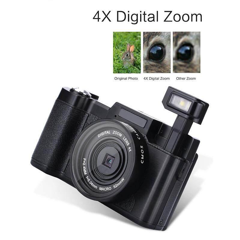 Huyia 24 Juta 1080 P Kecantikan Layar Flip Mikro Single Kamera Digital-Internasional