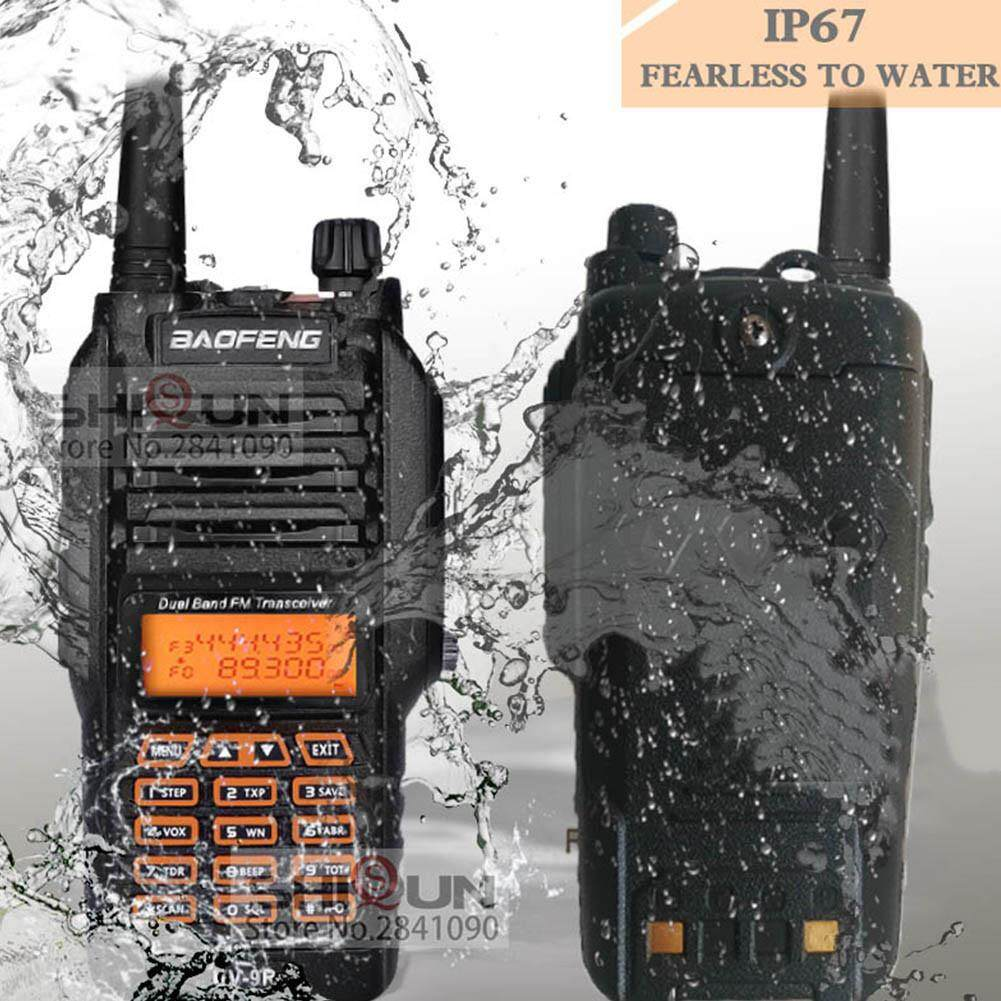 Baofeng Uv-9r Ip67 8 W Jarak Jauh Walkie Talkie Km Amatir Radio Band Ganda Uv9r Portable Komunikator Radio Cb By Storeshop.