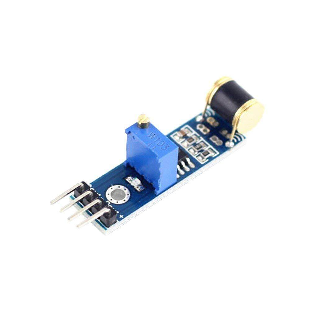 Allwin Sw 420 Modul Alarm Sensor Gerak Getaran Kemiringan Shock Tcrt5000 Garis Halangan Rintangan Line Track Tcrt 5000 Dc 3 V 5 801 S Sakelar Deteksi Untuk Arduino