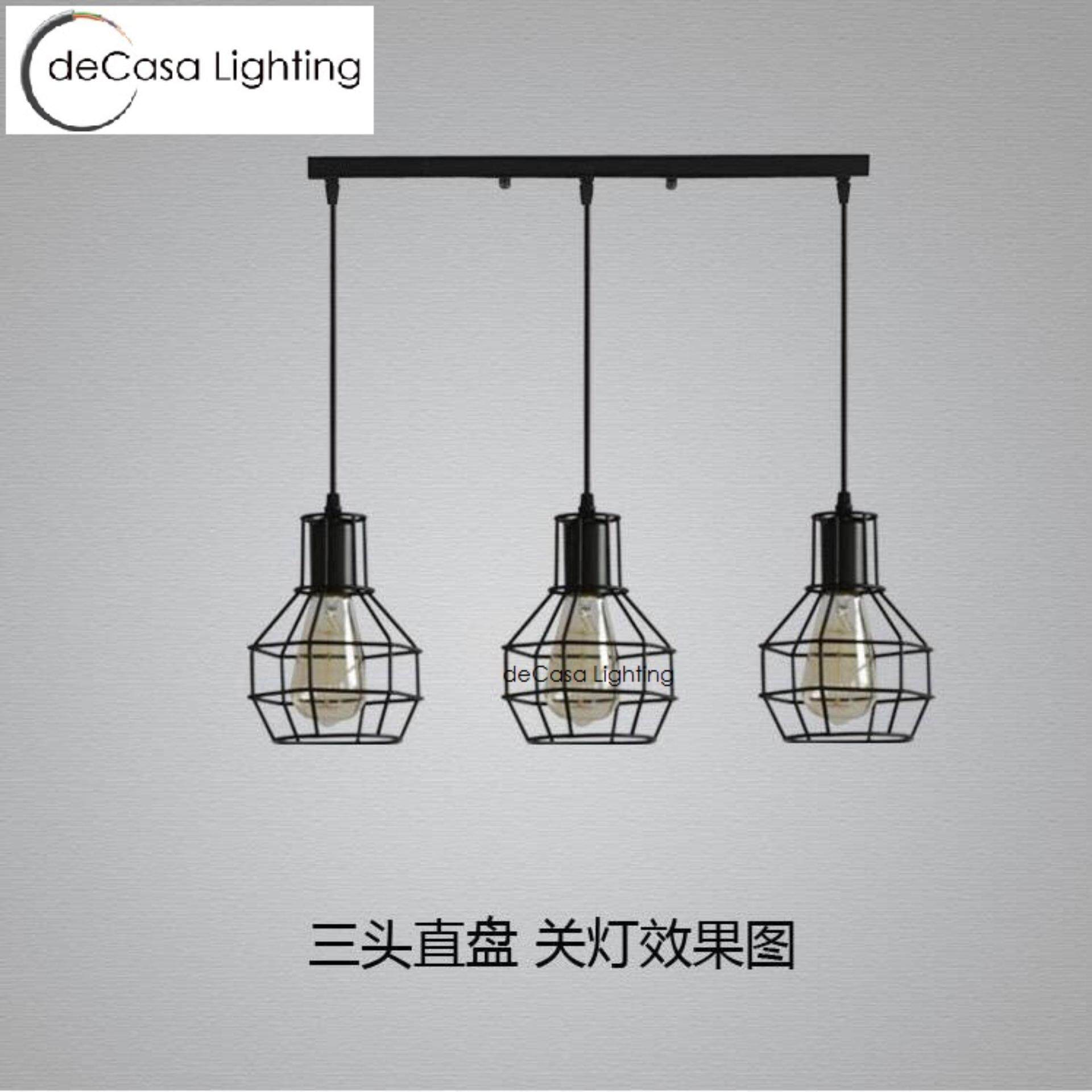 Ceiling lights pendants light long base decasa lighting designer decorative ceiling lights pendants light set of 3black loft designer decorative