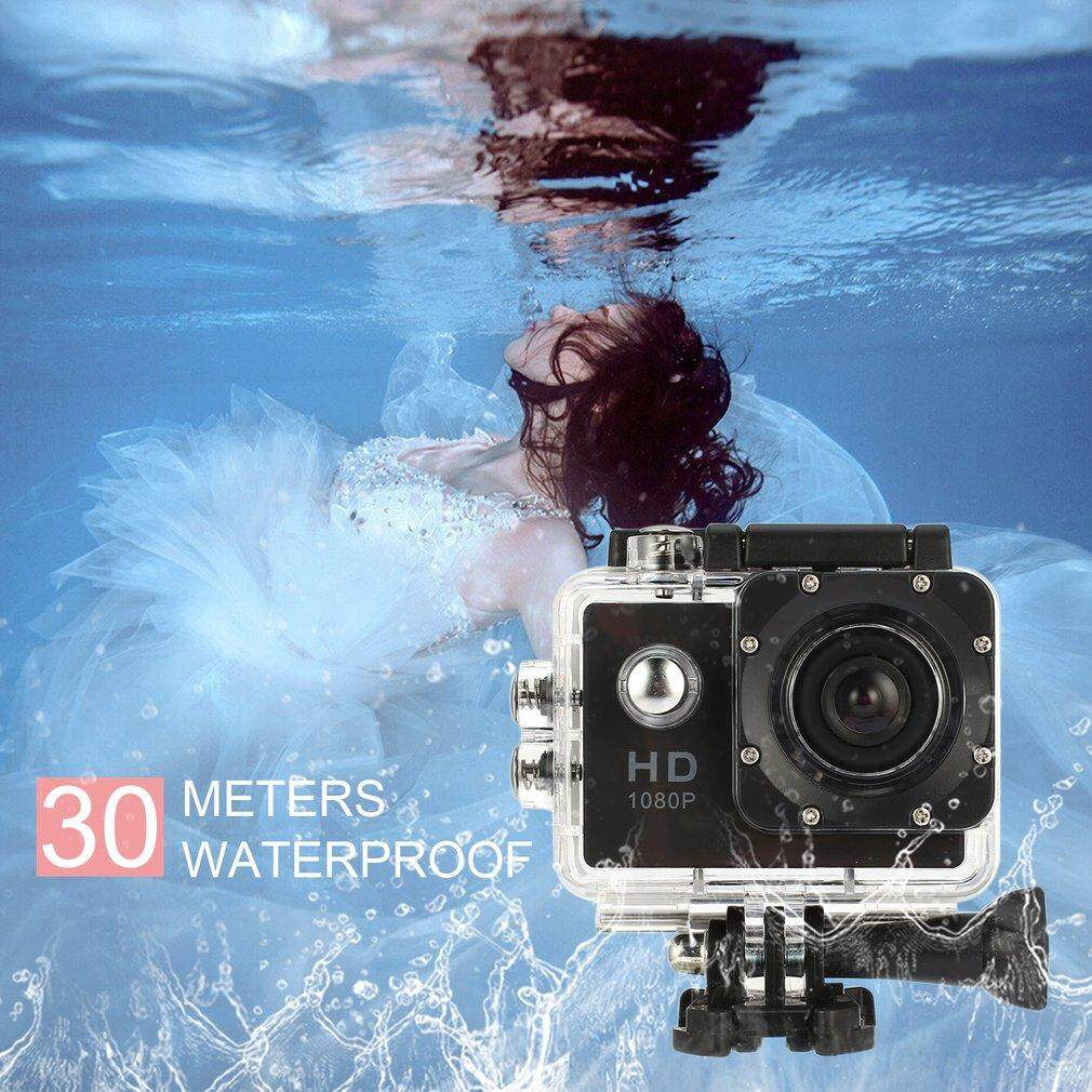 Hình ảnh KAKA Waterproof Full HD 1080P Sports Action Camera Mini DVR Camcorder for SJ4000 black - intl