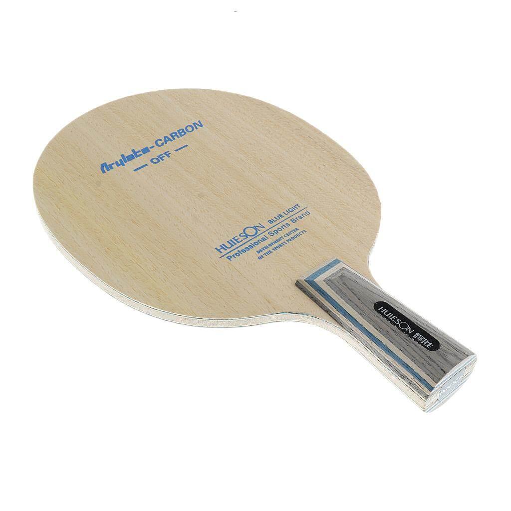 Miracle Shining Arylate Carbon Table Tennis Paddle Racket Ping Pong Bat Penhold Short Handle