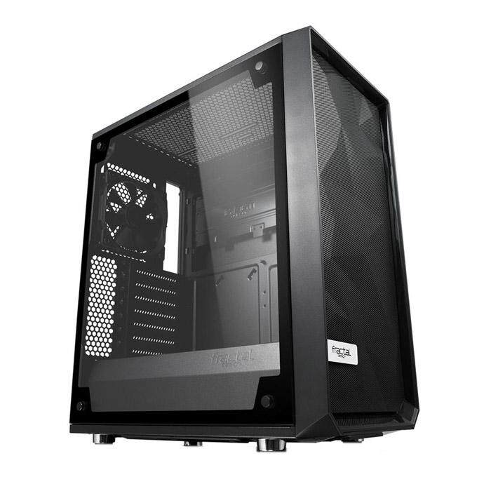 Fractal Design Meshify C Blackout ATX Case Tempered Glass Light Malaysia