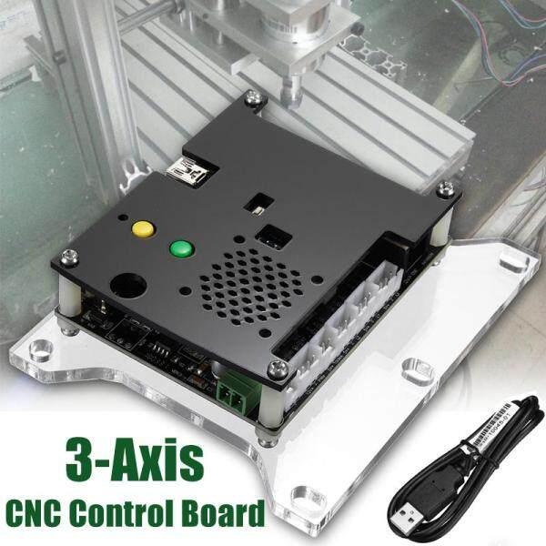 Giá Bộ Phận Máy CNC 3 Trục Tự Làm, Máy Khắc Laser Bảng Điều Khiển GRBL + Động Cơ Bước 3Pc