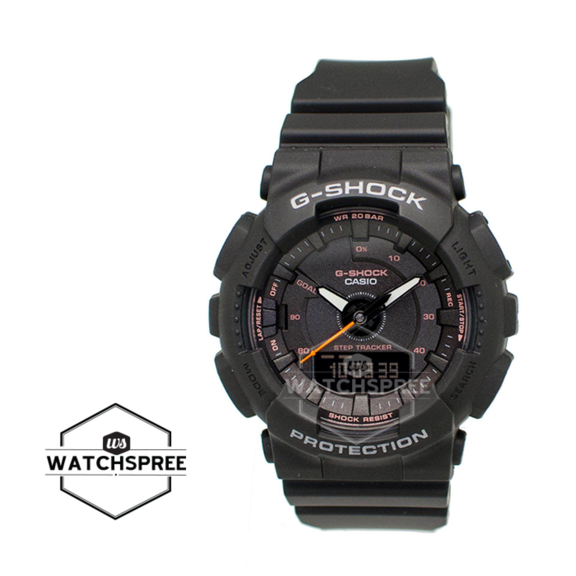Casio G Shock Women Watches Price In Malaysia Best Gma S120mf 7a2 S Series Step Tracker Black Resin Band Watch Gmas130vc 1a