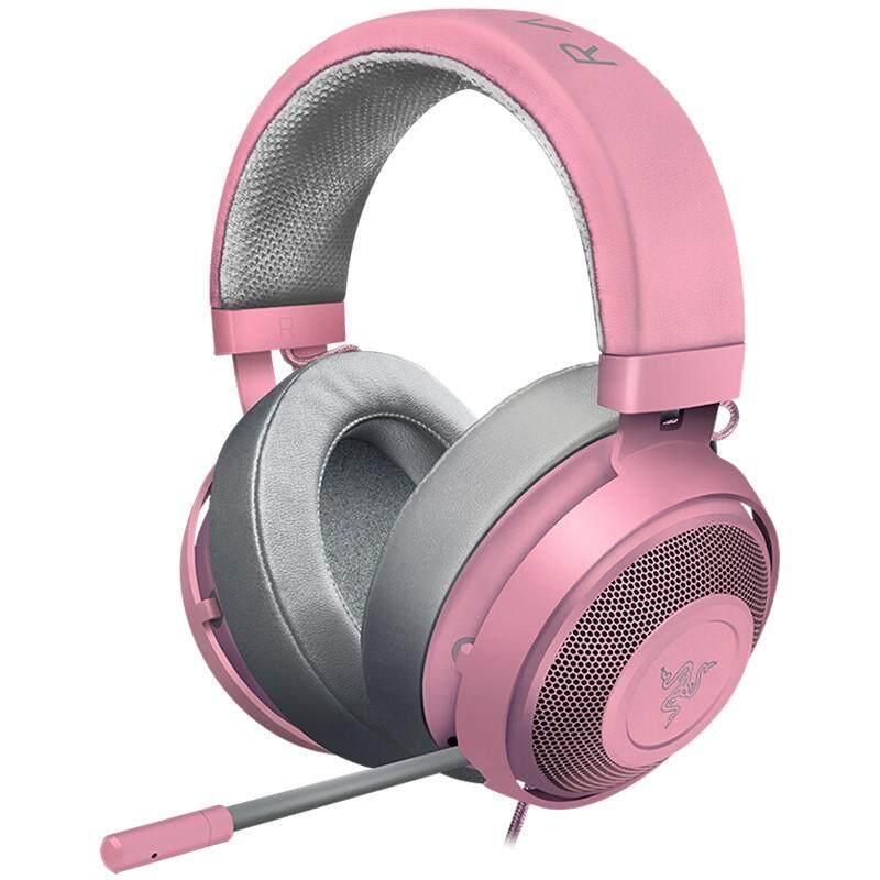 Razer Kraken Pro V2 Headset Bass Headphone Permainan dengan MIC untuk Telepon Seluler Kotak PC