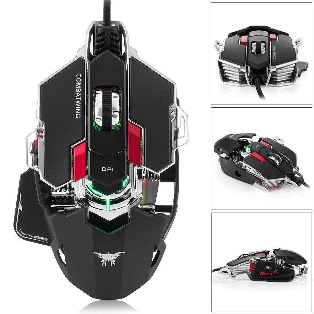 Joox Combaterwing 10 Buttons Dpi Optical Usb Professional Gaming Razer Anansi Mmo Keyboard Rz03 00550100 R3m1 Erpstore 4000 Optik Kabel Mouse Profesional Programmable Tombol Bernapas Intl