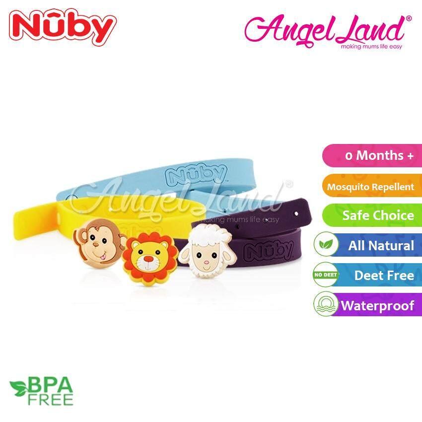 Nuby Mosquito Repellent Bracelet (2pcs) (Random Colour) - NB78081
