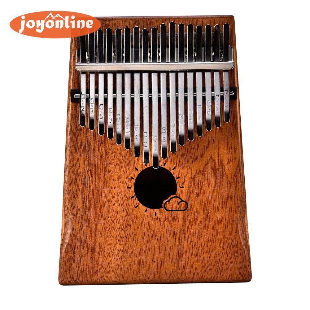 Muspor 17 Key Kalimba Thumb Piano Kids Adults Music Percussion Keyboard Kit - intl