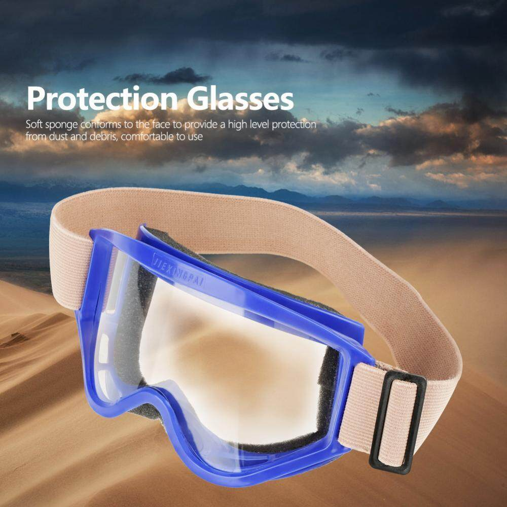 2 Color Safety Glasses Eye Protection Against Spatter Anti-sand Working Protective Goggles - intl