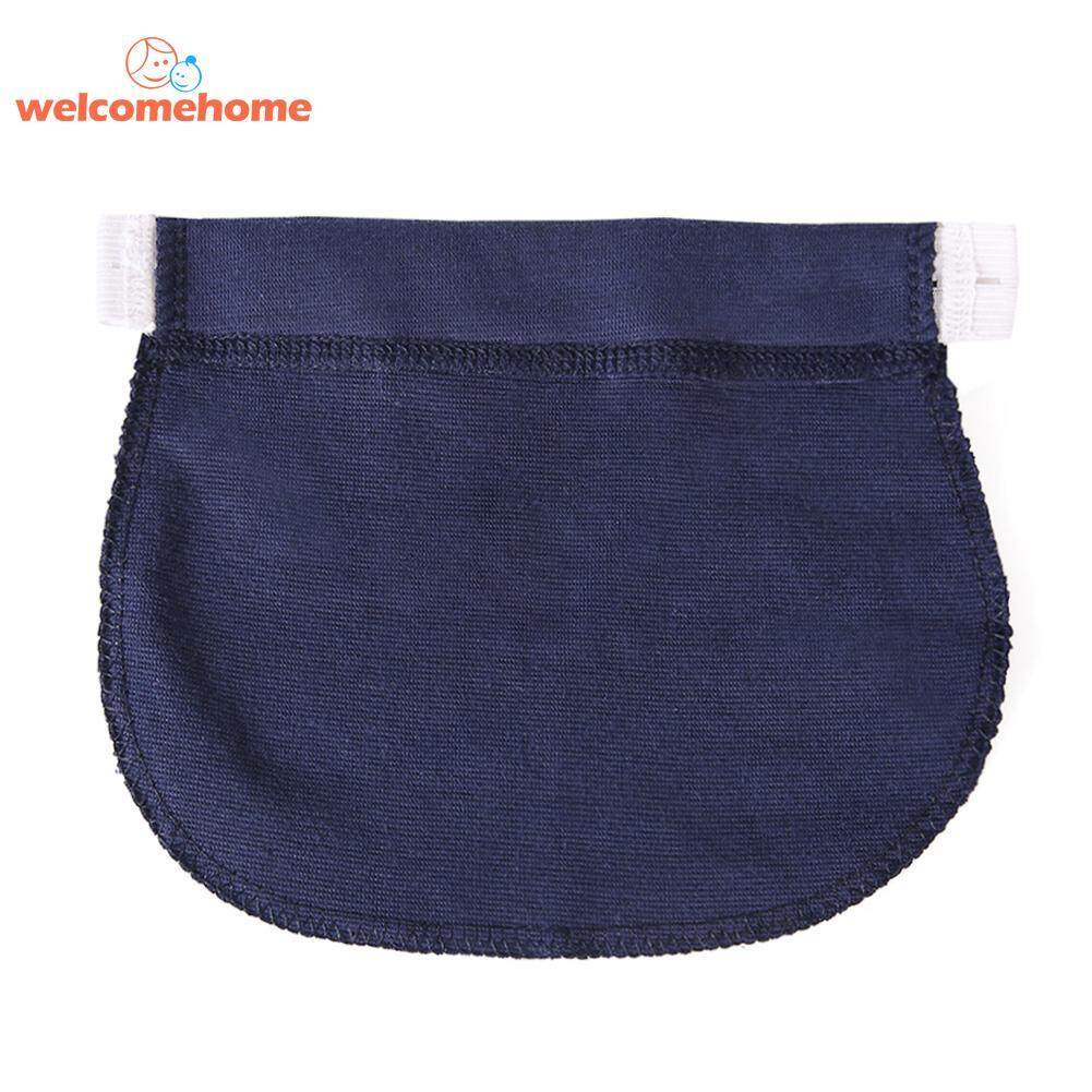 1pc Maternity Adjustable Pregnancy Waistband Belt Elastic Pants Extended Button By Welcomehome.