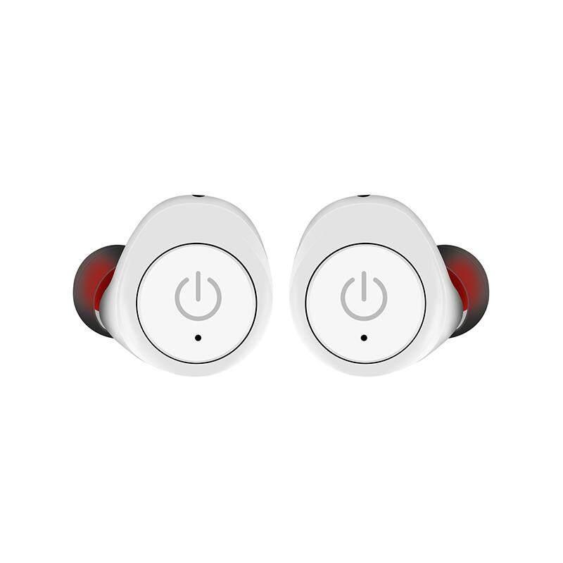 Ajkoy G6 Bluetooth untuk Olahraga Lari Headphone Stereo Nirkabel Earphone Mikrofon Tanam In-Ear Mini