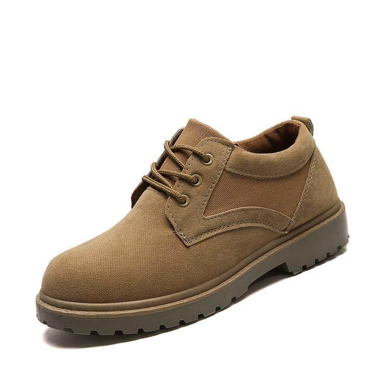 ฤดูใบไม้ร่วงรองเท้าใหม่ผู้ชายรองเท้าหนัง By Asia Online Supermarket.