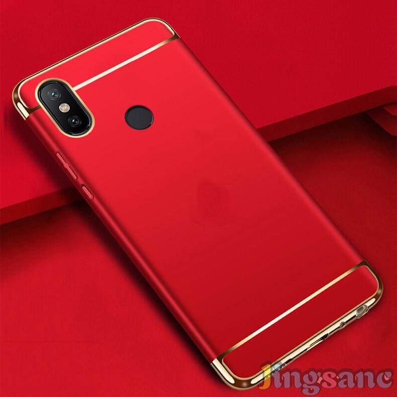 ... Untuk Xiaomi Redmi S2 [Casing Ponsel + Kaca Antigores] Luxury 3 In1 Desain Matte ...
