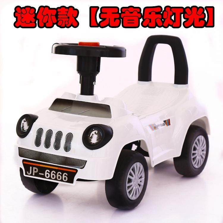 Childrens Scooter With Music Four Wheel Baby Walker 1-3-5-Year-Old Baby Yo Infants Sway Swing Car By Taobao Collection.