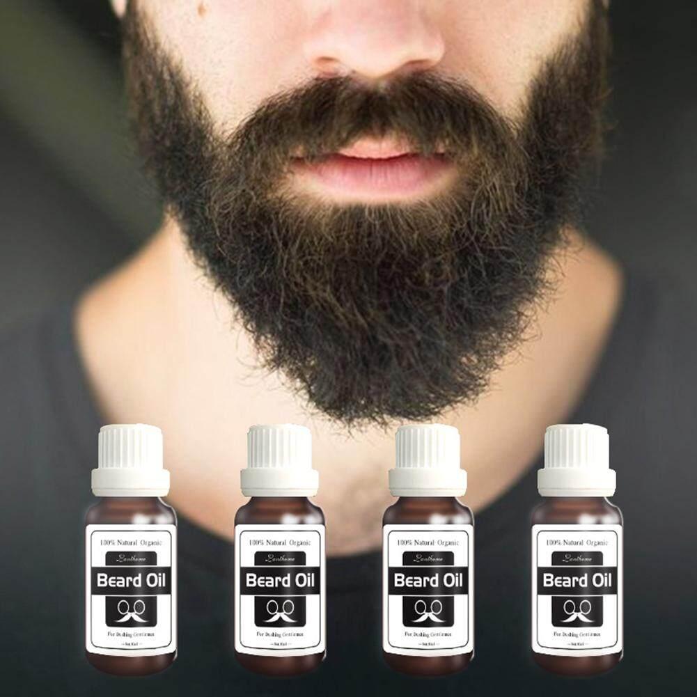 Cincin Pria Jenggot Grooming Produk Wajah Perawatan Rambut Pertumbuhan Kondisioner Pelembap Minyak (1 X Minyak